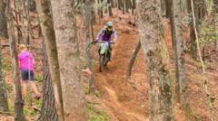 Motocross dirt bike racing 28 Stock Footage