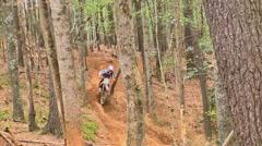 Motocross dirt bike racing 26 Stock Footage