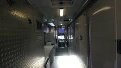 Inside Truck Stock Footage