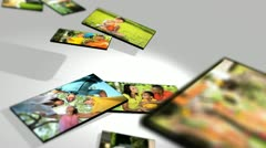 3D Montage Multi Ethnic Family Lifestyle Stock Footage