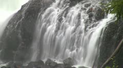Waterfalls Close Up Shot @F22 Stock Footage