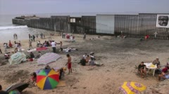 Tijuana Border Stock Footage
