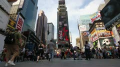 P5C45 Times Square New York City - stock footage