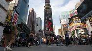 P5C45 Times Square New York City Stock Footage