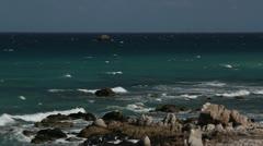 Mermaid beach baja california mexico Stock Footage