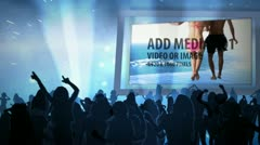 Media Night Club - stock after effects