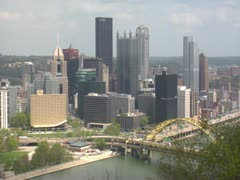 Pittsburgh Scan Stock Footage