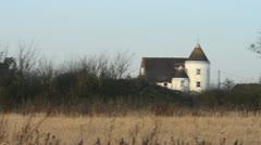 Chateau style farm house in England Stock Footage