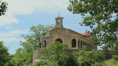 Spain Valle de Iruelas chapel - stock footage
