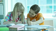After school fun Stock Footage