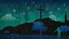 The Victory of Faith Stock Footage