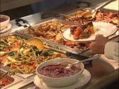 Stock Video Footage of Filipino Buffet