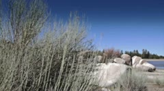 Trail in Desert 2 Stock Footage