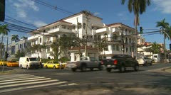 Panama City architecture Stock Footage