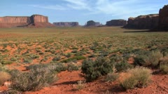 Monument Valley Floor - stock footage