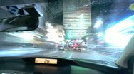 Car City Drive - Time Lapse Stock Footage