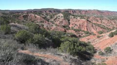 Caprock Canyons State Park Texas Stock Footage