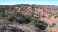 Stock Video Footage of Caprock Canyons State Park Texas
