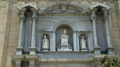 Spain Granada cathedral saints Stock Footage