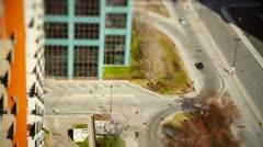 Tiltshift - little cars Stock Footage