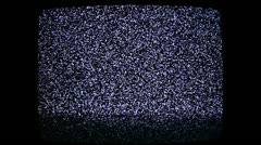 Complete television filter 02 Stock Footage