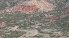 Palo Duro Canyon State Park Texas - stock footage