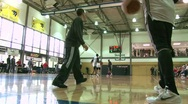 Stock Video Footage of Trailblazer Basketball Training 3