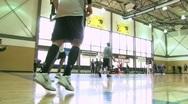 Stock Video Footage of Trailblazer Basketball Training 4