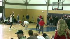 3 Point Shooting Luke Babbitt 2 Stock Footage