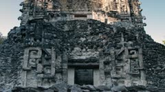 Mayan ruins mexico xpujil Stock Footage