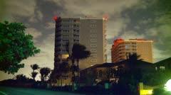 Buildings Timelapse Stock Footage