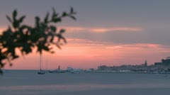 Saint-Tropez SUNRISE Stock Footage