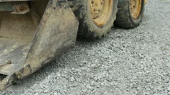 Scoop of construction equipment Stock Footage