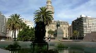 Stock Video Footage of Montevideo's City. Uruguay