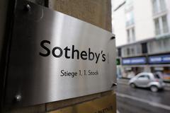 Sotheby's logo Stock Photos