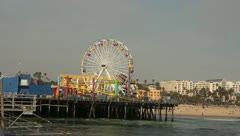 Carnival on the Pier Stock Footage