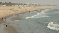 West Coast Beach Stock Footage