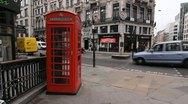 Fleet Street and Farringdon Street. Stock Footage