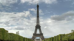 Eiffel Tower - Paris, France - stock footage