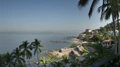 puerto vallarta mexico coast - stock footage