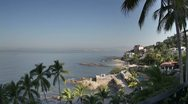 Puerto vallarta mexico coast Stock Footage