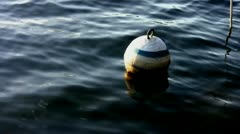 Buoy on Lake Stock Footage