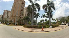 Coral Gables Miami Stock Footage