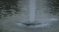 Fountain - Closeup Shot Stock Footage