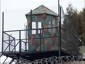 Stock Video Footage of The territory of the prison. (Russian prison)