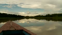 Shipping On Amazon River in Peru Stock Footage