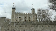 Tower of London. Stock Footage