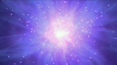 Nebula stars rays energy laser universe tunnels space,atomic fire radiation. Stock Footage
