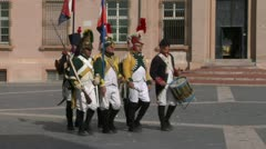 French artillery 04 Stock Footage