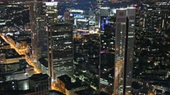 Frankfurt skyline timelapse Stock Footage